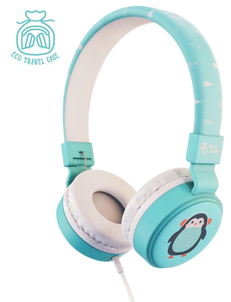 Pepper the Penguin headphones (Planet Buddies / Discover Animals)